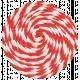Lil Monster- Red Pinwheel String