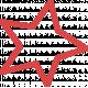 Lil Monster Red Star Outline Stamp