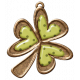 Oh Lucky Day- Clover Charm