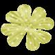 Oh Lucky Day- Green Polkadot Flower