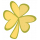 Oh Lucky Day- Yellow Clover