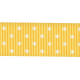 Oh Lucky Day- Yellow Polkadot Straight Ribbon