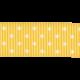 Oh Lucky Day- Yellow Polkadot Straight Ribbon