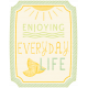 "Sunshine And Lemons- ""Enjoying Every Day Life"" Tag"