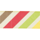 Rain, Rain- Colorful Diagonal Striped Ribbon