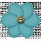 Rain, Rain - Blue Flower