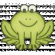 Rain, Rain- Little Froggie