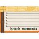 "At The Beach- ""Beach Moments"" Journal Card"