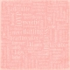 Oh Baby, Baby- Word Scramble Pink Paper