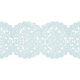 Oh Baby, Baby- Blue Crocheted Trim