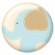 Oh Baby, Baby- Blue Elephant Flair