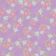 Forever Friends Mini Kit- Purple Floral Paper