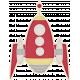Space Explorer July 2014 Blog Train Mini Kit- Red Rocket