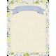 Pond Life- Floral Journal Card 3x4