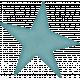 Space Explorer- Blue Star Sticker
