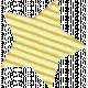 Space Explorer- Cardboard Star Yellow