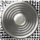 Space Explorer- Silver Metal Button