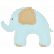 Oh Baby, Baby- Blue Elephant Sticker