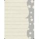 Space Explorer- Gray Star Card 3x4