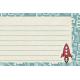 Space Explorer- Rocket Numbers Card 4x6