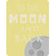 Space Explorer- To The Moon And Back Card 3x4