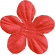 Christmas In July- CB- Small Red Flower