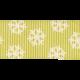 Christmas In July- CB- Green Snowflake Ribbon