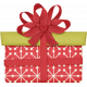 Christmas In July- CB- Red Ribbon Present