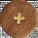 School Fun- Brown Button