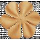School Fun- Brown Little Flower