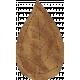School Fun- Brown Paper Leaf