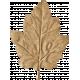 School Fun- Tan Craft Leaf