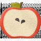 School Fun- Felt Apple