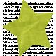 School Fun- Green Paper Star