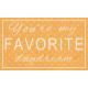 Summer Daydreams- You're My Favorite Daydream Wordart