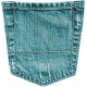 Summer Daydreams - Blue Green Jean Pocket