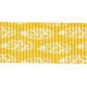 Outdoor Adventures - Ribbon - Yellow With Feathers