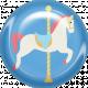At The Fair- Brad- Carousel Horse