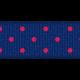 Blue Polka Dot Ribbon