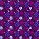 Floral 27 Paper- Purple