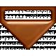 P&G Plastic Clip- Brown