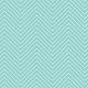 Chevron 03 Paper- Aqua & White
