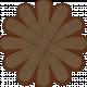 Brown Paper Flower 02