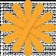 Orange Paper Flower