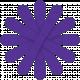 Purple Paper Flower 03