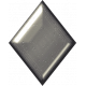 Silver Diamond Shape