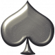 Silver Spade Shape