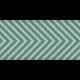 Paris Ribbon 05- Teal & Blue