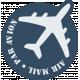 Air Mail Tag 02