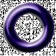 Purple Eyelet